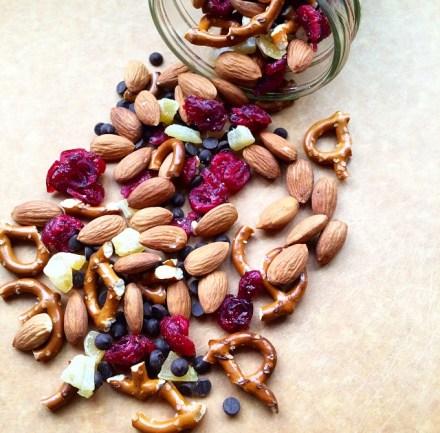 Vegan Chocolate Ginger Trail Mix Recipe