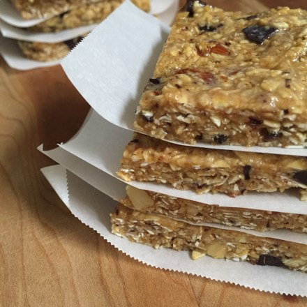 Vegan No Bake Granola Bars Recipe