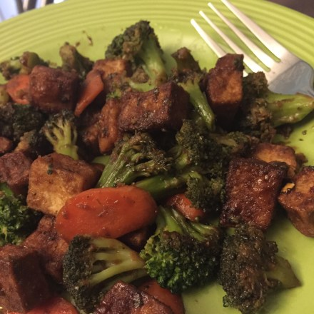 Ginger Tofu Stir Fry Vegan Recipe