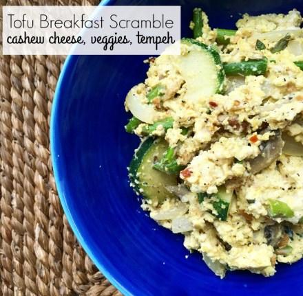 Vegan Tofu Breakfast Scramble