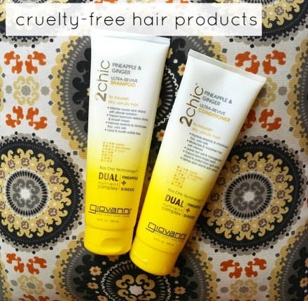 Cruelty-Free Hair Products