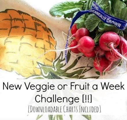 Vegan Fruit Veggie Challenge
