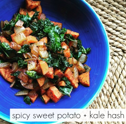 Vegan Spicy Sweet Potato Hash Recipe