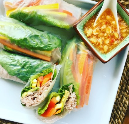Vegan Rainbow Summer Rolls Recipe
