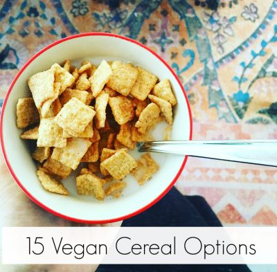 Vegan Cereal Options