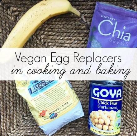 Vegan Egg Replacers