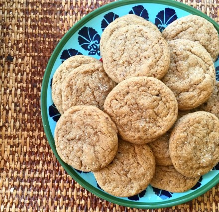 Vegan Gingersnap Cookies Soft Chewy