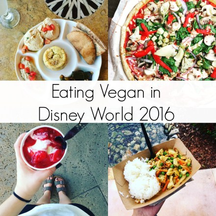 Eating Vegan in Disney World 2016