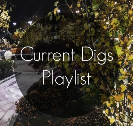 Current Digs Playlist | The Friendly Fig