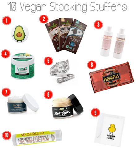 10 Vegan Stocking Stuffer Ideas