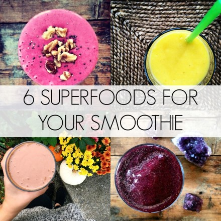 Smoothie Superfoods