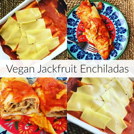 Vegan Jackfruit Enchiladas Recipe