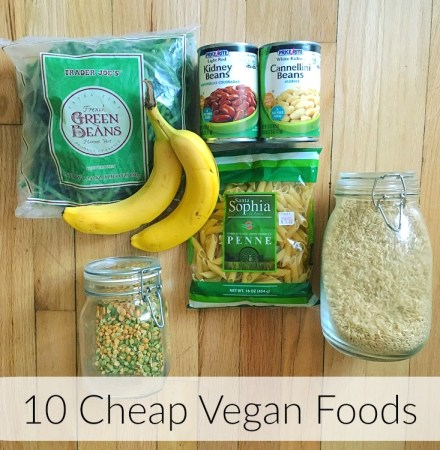 10 Cheap Vegan Foods To Stock Up On