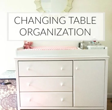 Changing Table Organization