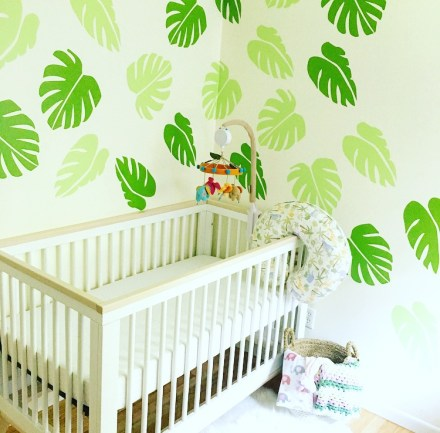 Baby Girl Jungle Nursery Tour