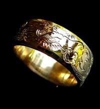 Gold Dragon Rings, Ouroboros Ring, Dragon Ring, Snake Ring ...