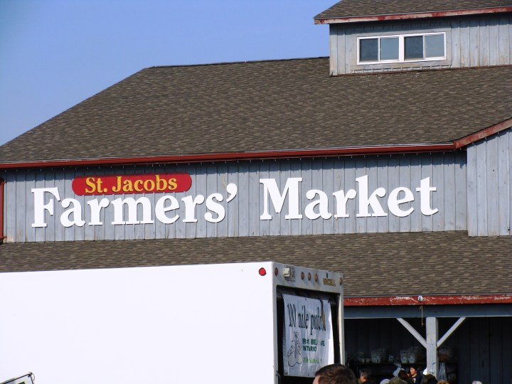"""St.Jacob's Market and Village, and the city formerly known as """"Berlin"""""""