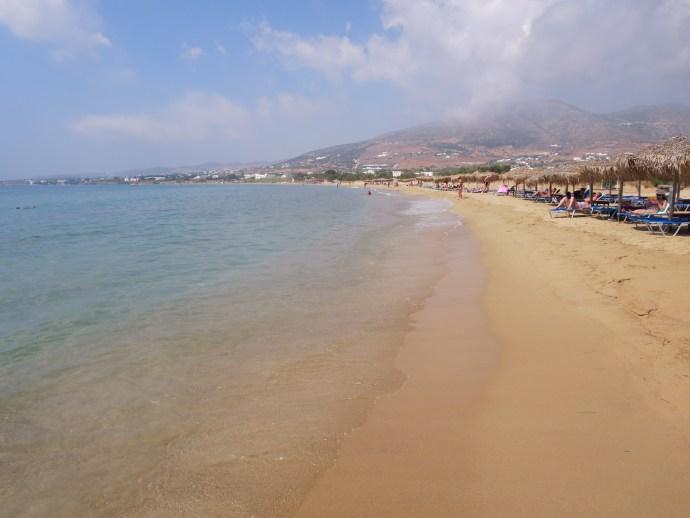 Beach Poseidon of Paros