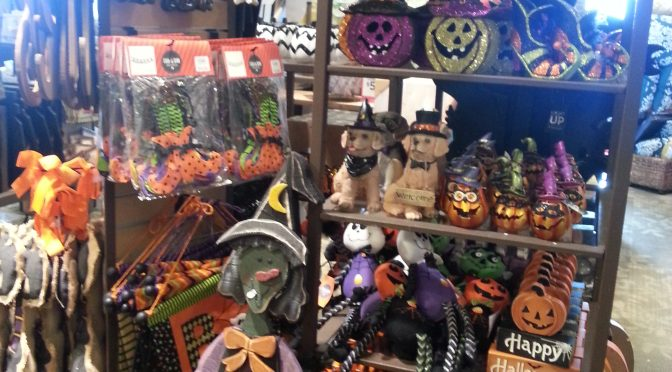 2016 Halloween Merchandise Review: Kirkland's