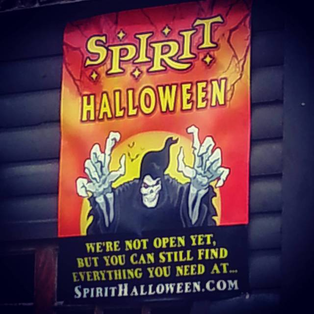 Its almost time! halloweeniscoming Halloween2016 spirithalloween