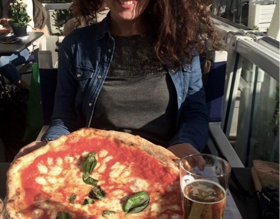 pizza da Sorbillo Napoli