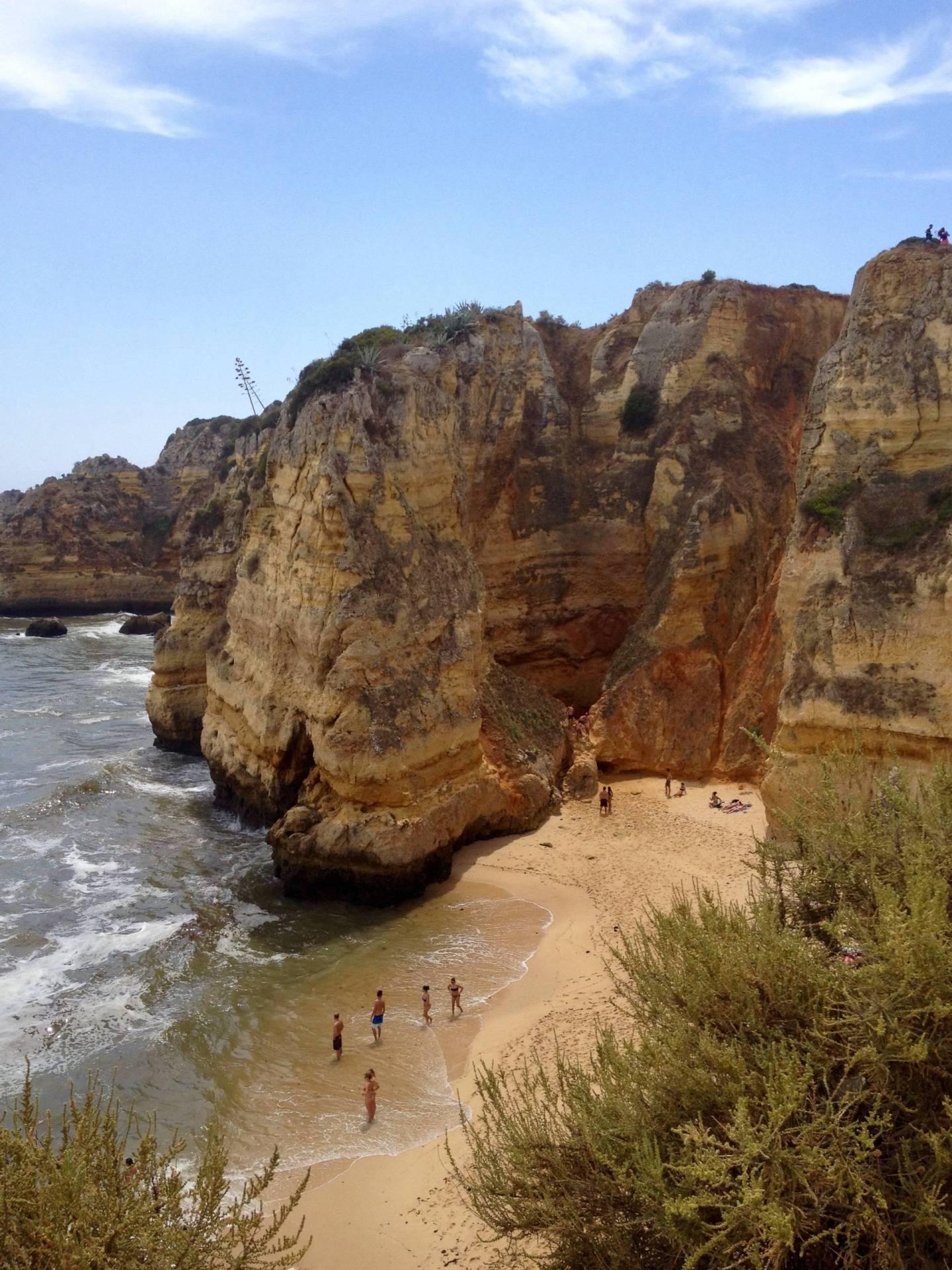 Algarve beach ten days in Portugal