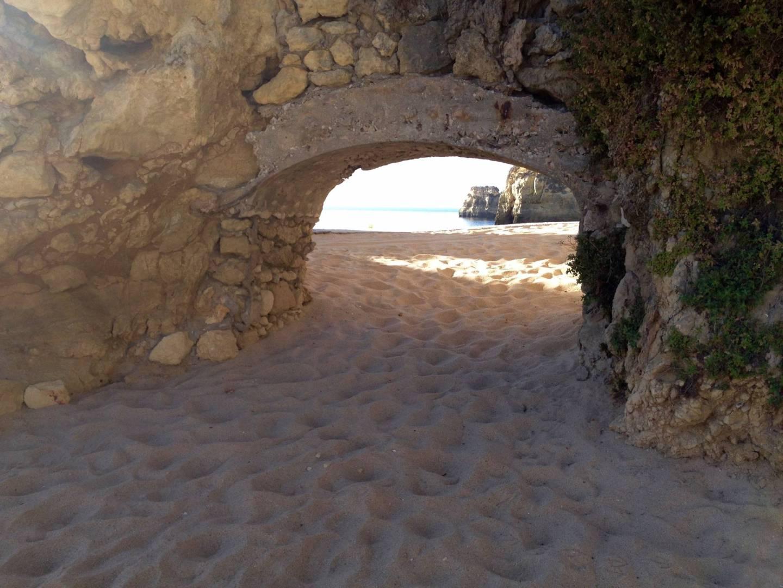 sand in Algarve beaches