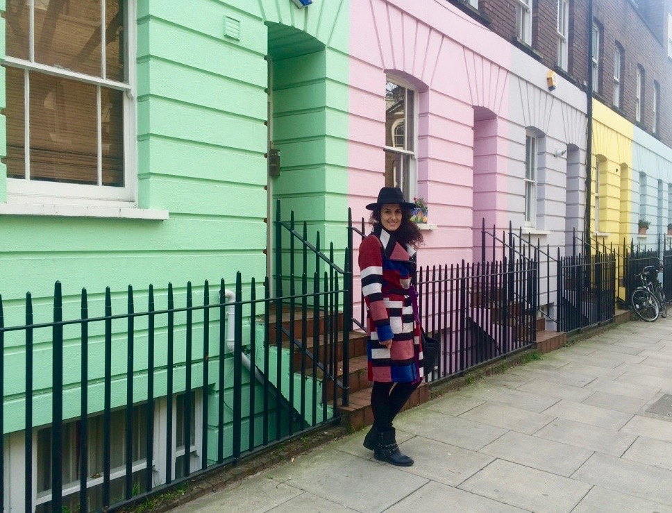 colourful spots in London The Frilly Diaries