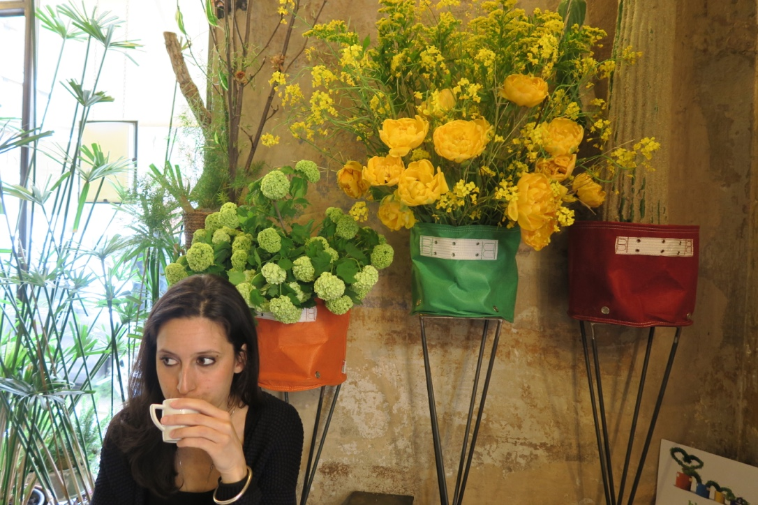 Coffee at Fioraio Bianchi my beautiful Milan