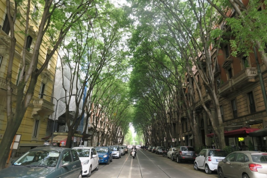 Vincenzo Monti street my beautiful Milan