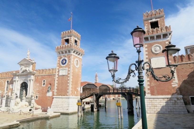 sestiere Castello in Venice: the Arsenale