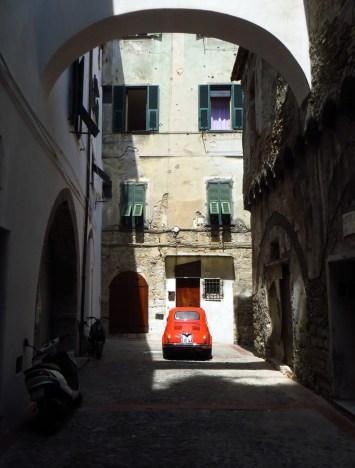 Car in Ventimiglia
