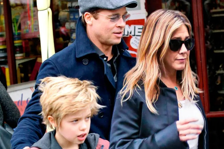Does Brad Pitt S Daughter Shiloh Really Refer To Jennifer Aniston As Mommy The Frisky