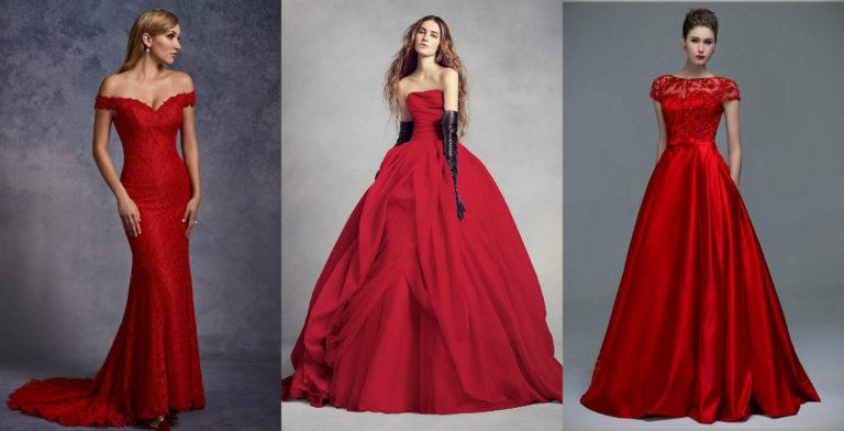 Best 15 Red Wedding Dresses In 2019