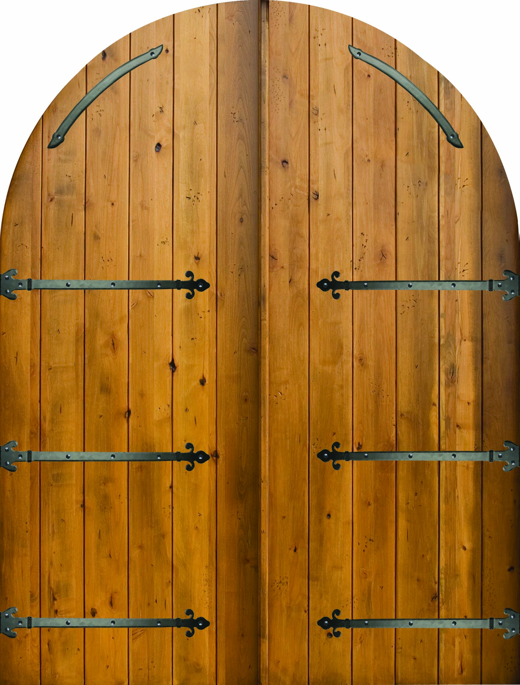 Arched and Round Top Wood Doors  The Front Door Company