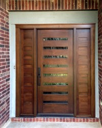 Modern Wood Door Gallery  The Front Door Company