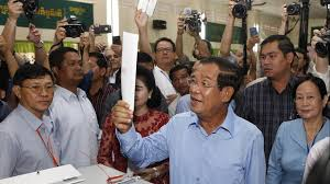 Cambodia PM's party to win 'all seats' in flawed election