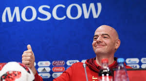 FIFA president Infantino thanks Russia for ´best World Cup´ ever