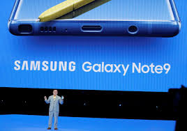 Samsung launches gaming-friendly Note-9