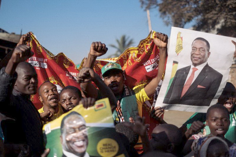 Zimbabwe opposition story picture