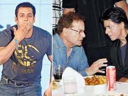 King Khan gives all the credit of his stardom to Salim Khan