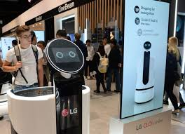 LG electronics to develop smart cart for supermarket chain