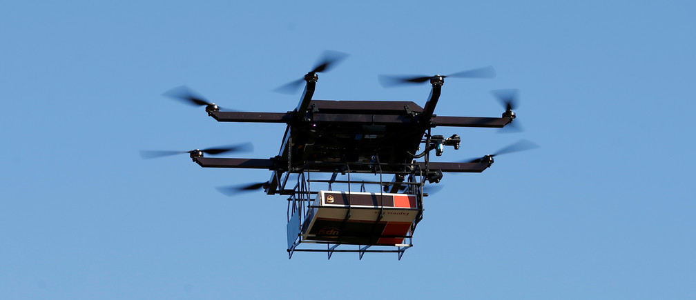 Here's how drone delivery will change the face of global logistics