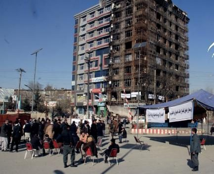 We need help,' say Kabul apartment fire affectees