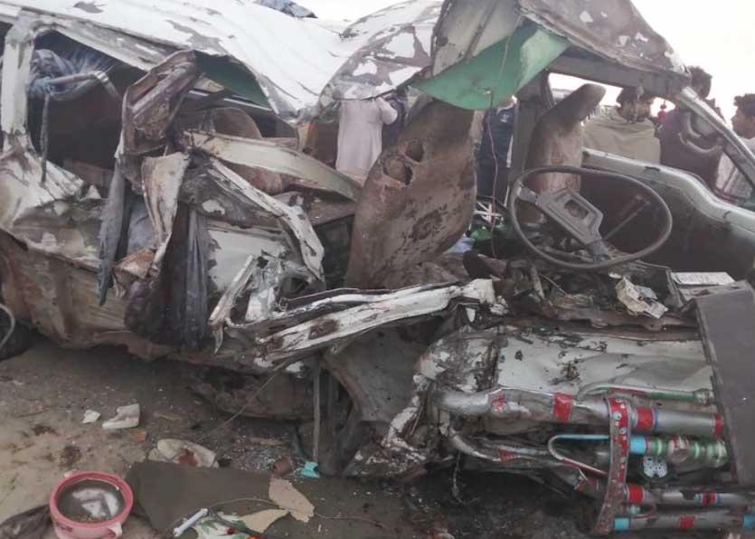 Three people killed in Sanghar road accident