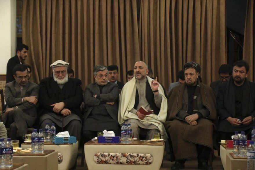 Atmar reacts to use of force by govt in Mazar-e-Sharif