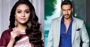 Keerthy Suresh to share screen with Ajay Devgn in an upcoming biopic