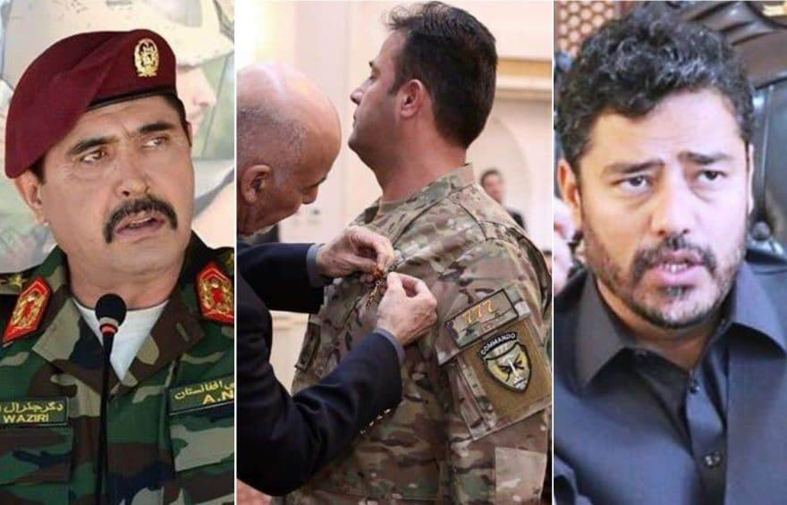 New officials assume charge in MoD and AAF