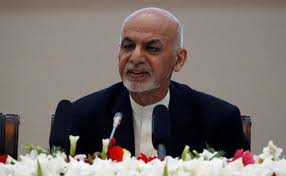Emotionally-charged Ashraf Ghani invites Taliban to peace