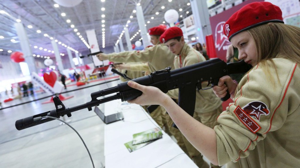 Russia's fast-growing 'Youth Army' aims to breed loyalty to the fatherland